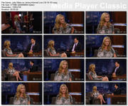 Julia Stiles on Jimmy Kimmel Live (10-14-2010) HD 720p